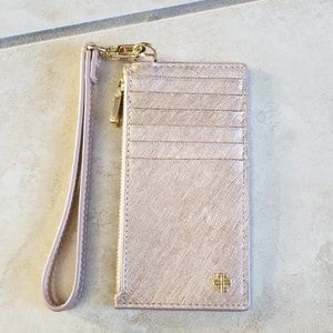*New* Tory Burch York Zip Card Case Wallet